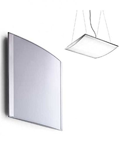 Strip wall/ceiling/suspension light D22/4 - 110 - 125V (for use in the U.S., Canada etc.), painted aluminum, ---- ()