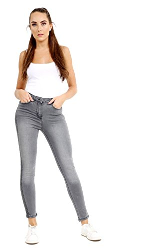 SeeitWearit - Jeans - Relaxed - Femme Gris