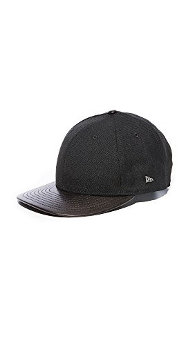 New Era Men's East Dane Low Profile Snapback Cap, Black, One Size (Era Snapback Hats New)
