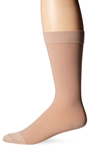 Dr. Scholl's Men's Unisex Surgical Weight Firm Support Socks, Beige, women's shoe size 9-11.5, men's shoe size 7.5-10 (Footwear Ankle Socks)
