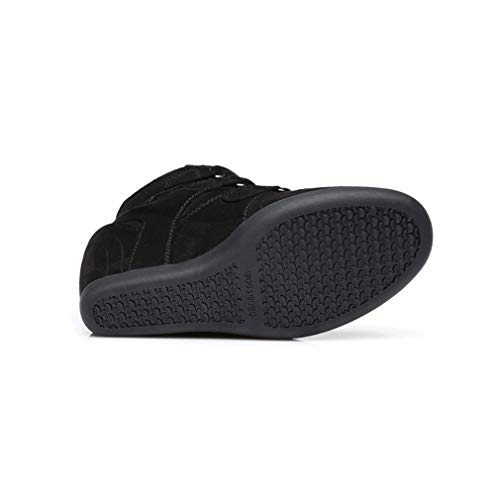 Señoras Primavera Mujer High Do Velcro Zapatos Moda De Invisible Microfibra Aumento Casuales top Yan qPYAx