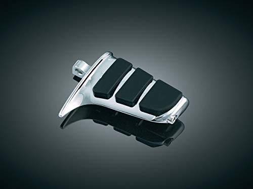 (Kuryakyn 4463 Motorcycle Footpegs: Premium ISO SweptWing Pegs with Male Mount Adapters, Chrome, 1 Pair)