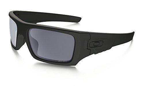 Oakley Industrial Det Cord Sunglasses Matte Black / Grey & Cleaning Kit - Cords Sunglass For Oakleys