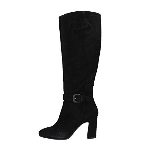 EU 7 Suede Boots Black 37 MANAS Woman US a0qBP
