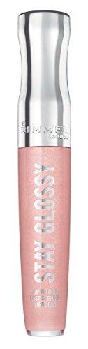 Rimmel Stay Glossy Lipgloss, Dorchester Rose, 0.18 Fluid ()
