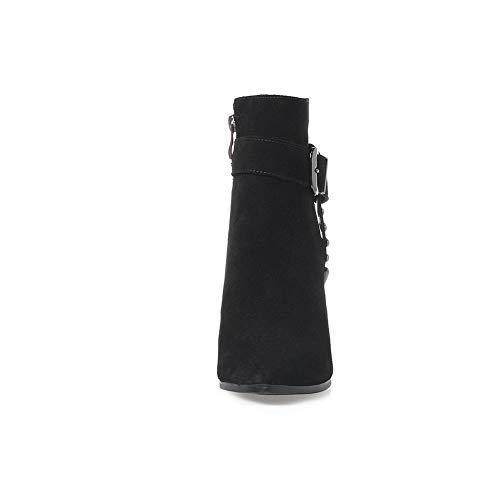 Sandales Balamasa Femme Abm13098 Noir Compensées wXqfxqp