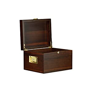 Langer & Messmer Valet Shoe Care Box München of veneered wood for storing shoe care products