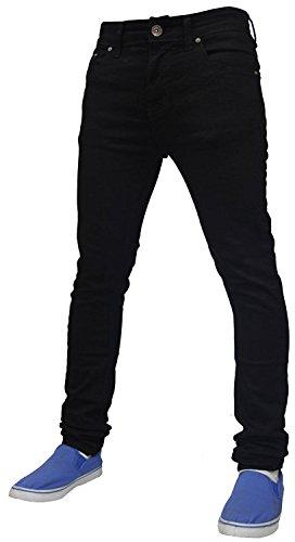 Cotone Cerniera 72 Jeans Pantaloni G Skinny In Mens Elasticizzati Slim Black Fit gvSH5xqn