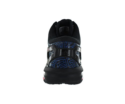 Adidas Crazylight Öka Mens Skor Storlek Svart / Vit / Mjuk Rosa