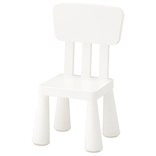 Ikea Mammut Kids Indoor / Outdoor Children's Chair, White Color - 1 Pack by IKEA