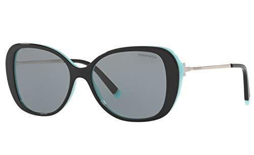 Tiffany & Co. TF 4156 Sunglasses for Women Frames New 2019 T Collection (Grey 8055/1, ()