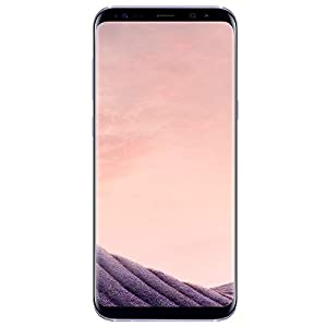 Samsung Galaxy S8+ Plus (64GB, 4GB RAM) 6.2″ AMOLED Display, Snapdragon 835, 4G LTE T-Mobile GSM Unlocked – SM-G955U (Orchid Gray)
