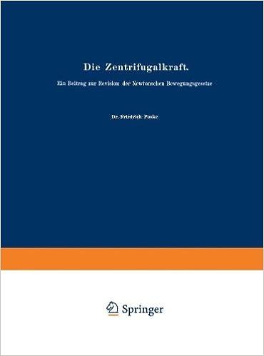 Book Die Zentrifugalkraft (German Edition) (Abhandlungen zur Didaktik und Philosophie der Naturwissenschaft)