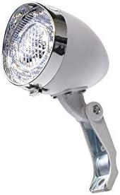 SIMSON 自転車部品 バッテリー フォーク ヘッドライト オランダホワイト LED 020772