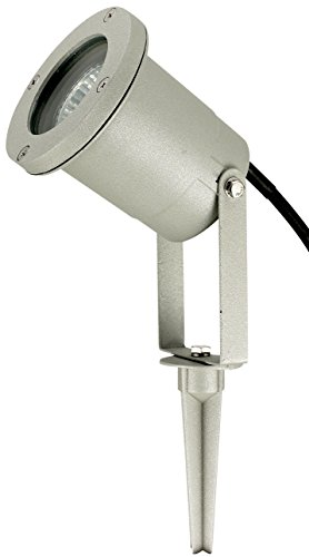 Betterlighting BT9001 silber Flut- und Spotbeleuchtung, GU10, silber, 9,12 x 9,12 x 31,5 cm