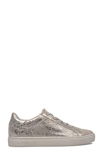 Grigio Crime 25162pp173 Sneakers Pelle Donna London TAqAw1rX