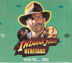 TOPP HERITAGE TRADING CARDS: Indiana Jones HOBBY Box (24 Packs)