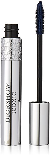 (Diorshow Iconic High Definition Lash Curler Mascara No.268 Navy Blue Women Mascara by Christian Dior, 0.33 Ounce)