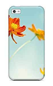 9240080K17868070 Iphone 5c Case Cover Skin : Premium High Quality Cosmos Flowers Case
