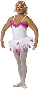 DISBACANAL Disfraz de Bailarina para Hombre - -, XL: Amazon.es ...