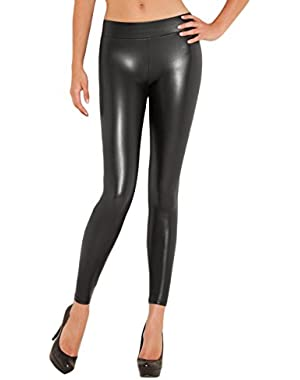 GUESS Women's Matte Wet Leggings