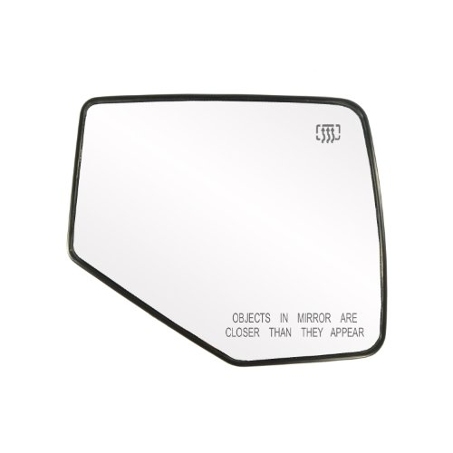Fit System 30209 Ford/Mercury Right Side Heated Power Replacement Mirror Glass with Backing (Heated Right Power Mirror)