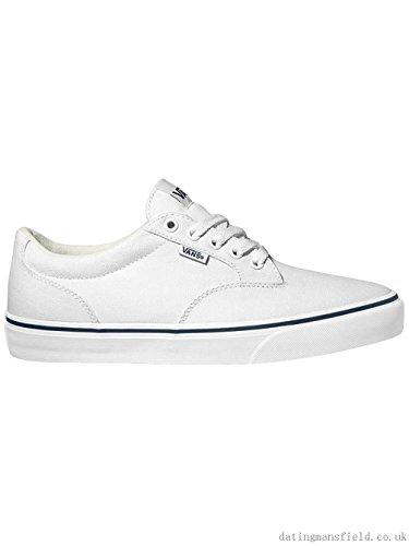 Vans Winston Canvas White/Black -Zapatillas Niño/A