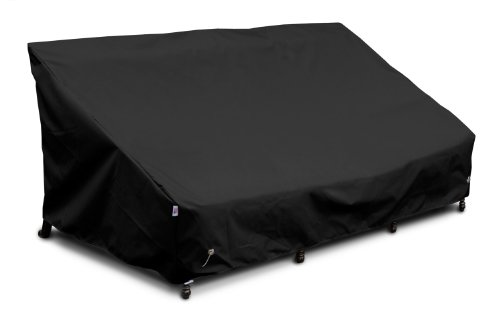 KoverRoos Weathermax 77450 Sofa Cover, 65-Inch Width by 35-Inch Diameter by 35-Inch Height, Black by KOVERROOS