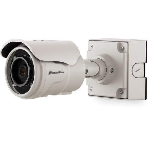 (ARECONT VISION AV3325DNIR 3MP MicroBullet, 2048x1536, 21fps, MJPEG/H.264, SNAPstream, IR LED Array, Day/Night, 2.8-8mm Remote Focus, Remote Zoom, IP66, IK-10,)