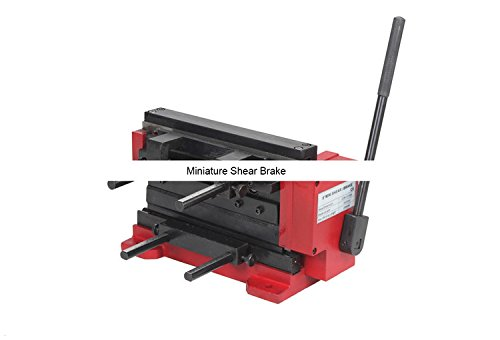 S/N:20002 Miniature Shear Brake/SIEG 8'' Mini Shear/Brake/Manual Bending Machine by MUCHENTEC