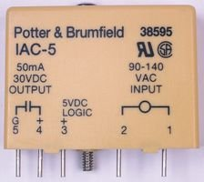 TE CONNECTIVITY / POTTER & BRUMFIELD IDC-5 I/O MODULE