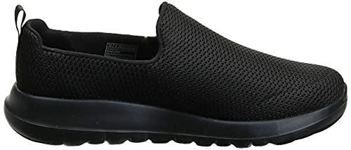 Skechers Men's Go Walk Max-Athletic Air Mesh Slip on Walkking Shoe Sneaker,Black,7 X-Wide US