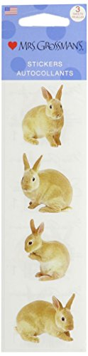 Mrs Grossman Stickers-Rabbit - Stickers Bunny Rabbit
