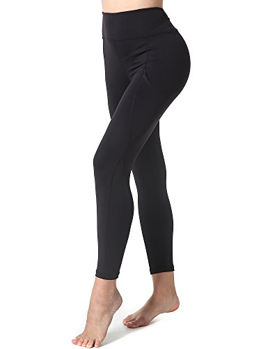 Womens Low Fit Crop Pant (Yoga Pants for Women,Athmile Workout Running Dry Wicking Women Yoga Capris Leggings)
