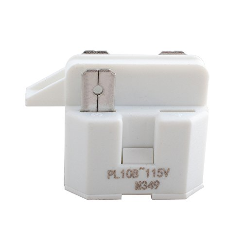 - Wadoy IC102 Relay 3 Terminal for Universal Refrigerator Freezer Compressor PTC Start Relay Replacement ERIC102