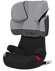 Cybex - Silla de coche grupo 2/3 Solution X-Fix, para coches con y sin ISOFIX, 15-36kg, desde los 3 hasta los 12 años aprox., Cobblestone