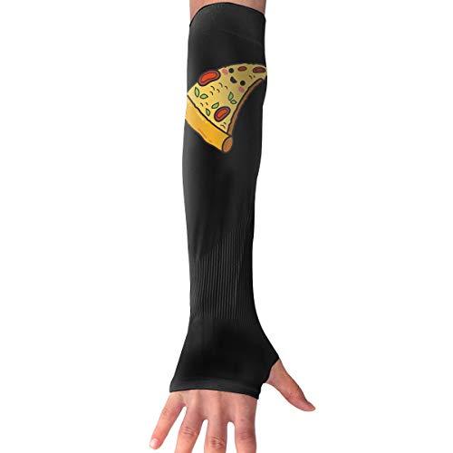 MASDUIH Pizza Gloves Anti-uv Sun Protection Long Fingerless Arm Cooling Sleeve