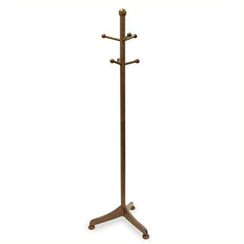 Winsome Wood Coat Hanger, Walnut (Winsome Light)