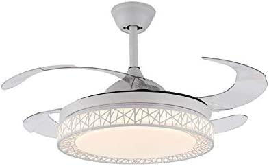 42 Inch Modern Retractable Ceiling Fans