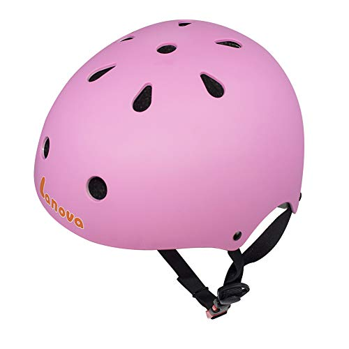 Lanova Toddler Kids Adjustable Bike Helmet,CPSC Certified Cycling Multi-Sport Safety Skating Scooter Helmet for 3 to 8 Years Old ()