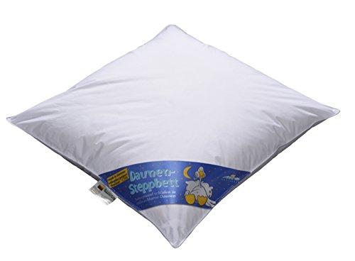 ARO Artländer 9043900 Noblesse Baby-Bett, Sibirische weiße neu Gänsedaune 90% , Klasse 1, PREMIUMKLASSE, Größe 80 x 80 cm