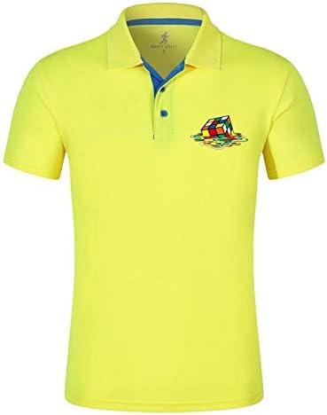 AVJDJ De Moda de Verano para Hombre Camisas de Polo de Manga Corta ...
