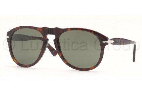 Persol PO0649 24/31 Tortoise PO0649 Aviator Sunglasses Lens Category 3 Size - Persol Po0649