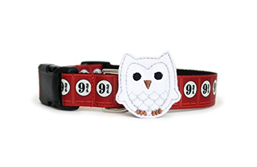 Harry Potter Platform 9 3/4 Dog Collar by You Had Me at Woof