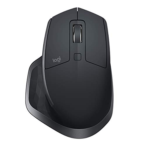 Logitech MX Master 2S Wireless Mouse – Use on Any Surface,...
