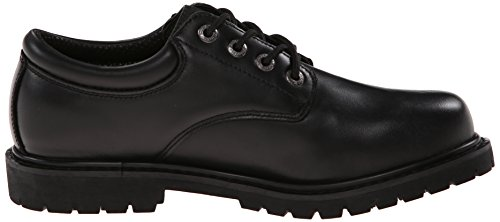 Skechers calzado For Work 77041 Cottonwood à lans trabajo? Negro - negro