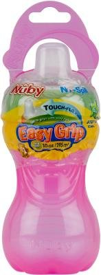 Nuby 10 Oz. No-Spill Gripper Cup With Soft Spout (Pack Of 72)