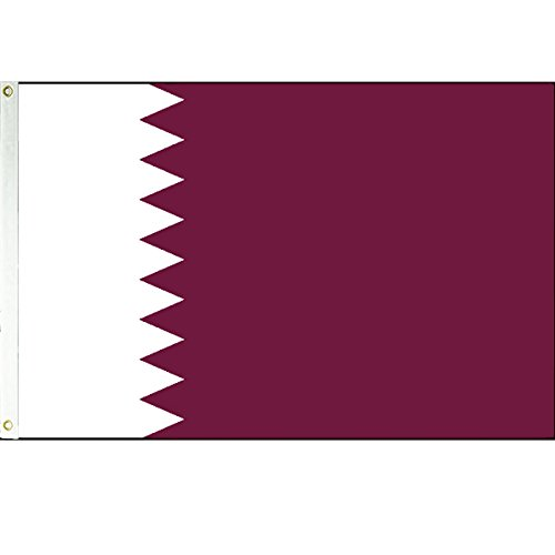 3x5 Qatar Flag Arab Country Banner State Pennant
