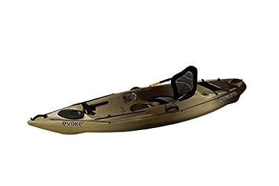 Evoke Navigator 100 Sit in Angler Kayak, Camo
