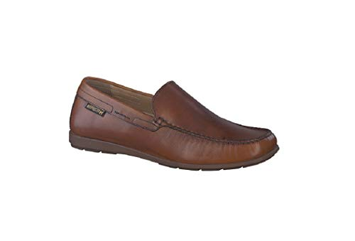 Mephisto Men's Algoras Loafer Brandy Leather 43 (US Men's -